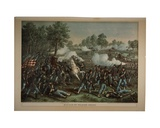 Battle of Wilson's Creek, 1893 Giclee Print by Kurz And Allison