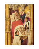 Redemption Triptych: Sacrament of Extreme Unction, from the Series of Small Images Portraying the… Giclee Print by Vrancke Van der stockt