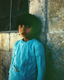 Child in Jerusalem, Israel Photographic Print