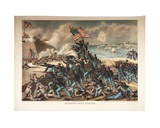 Storming Fort Wagner, 1890 Giclee Print by  Kurz And Allison