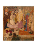 The Baptism of St. Oswald, C.1870 Giclee Print by Ford Madox Brown
