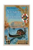 Venice in London at Olympia, 1892 Giclee Print