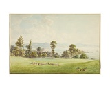 View on the Dart Giclee Print by Anthony Devis