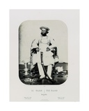 A Royal Natch in the Island of Jug Navas Oudeypour; the Rajah, C.1865-68 Giclee Print by Louis Rousselet