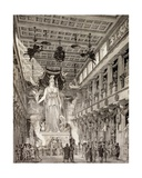 Artist's Impression of the Statue of the Goddess Athena in the Parthenon, Athens, During the… Giclee Print