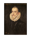 Don Rodrigo Vázquez De Arce Giclee Print by  El Greco