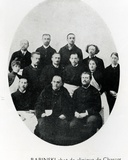 Charcot with His Chef De Clinique, Babinski and a Group of Interns and Doct Photographic Print