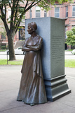 The Boston Women's Memorial on Commonwealth Avenue, Boston, Usa Photographic Print