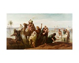 The Sudden Rising of the Nile, 1865 Giclee Print by Frederick Goodall
