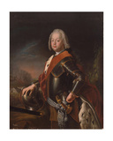 Portrait of Christian August, Prince of Anhalt-Zerbst, 1725 Giclee Print by Antoine Pesne