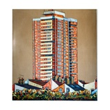 Bow Tower Giclee Print by Noel Paine