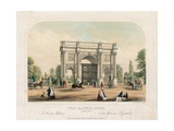 Marble Arch, Oxford Street, London Giclee Print