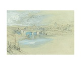 The Bridge of Rheinfelden, Switzerland Giclee Print by John Ruskin