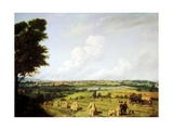 View of Preston from Penwortham Mill, 1821 Giclee Print by John Jenkinson