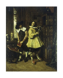 The Conoisseurs, 1883 Giclee Print by Ferdinand Roybet