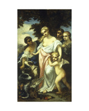 Diana after the Hunt Giclee Print by Narcisse Virgile Diaz de la Pena