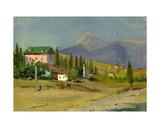 Crimean Landscape, 1950s Giclee Print by Svetlana Ryazanova