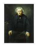 Portrait of Jean Baptiste Camille Corot, 1874 Giclee Print by Benedict Masson