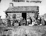 Polygamy in Low Life, C.1860s Photographic Print by Charles Roscoe Savage