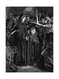 Elizabeth Fry and Anna Buxton Visiting Newgate Prison Giclee Print