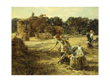 The Gleaners Giclee Print by Léon Augustin L'hermitte