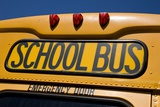 School Bus in Brooklyn Photographic Print