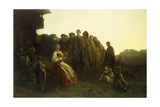 The Balladeer Giclee Print by Gustave Doré