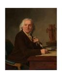 Portrait of Jean Durameau Giclee Print by Joseph Benoit Suvee