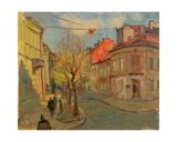 City Scene in Lvov, 1960s Giclee Print by Svetlana Ryazanova