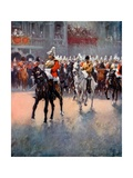 The Trooping of the Colours Giclee Print