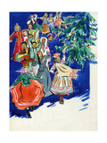 Sketch for a Postcard, 1950s Giclee Print by Svetlana Ryazanova