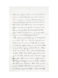 Autograph Manuscript of Lincoln's Last Address as President, Delivered in Washinton, D. C., from… Giclee Print by Abraham Lincoln
