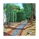 The Appia Antica Giclee Print by Noel Paine