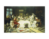 The Prince's Birthday Party, 1886 Giclee Print by Adolphe Alexandre Lesrel