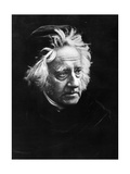 Sir John Frederick William Herschel, 1867 Photographic Print by Julia Margaret Cameron