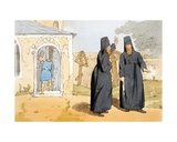 Monks, C.1804 Giclee Print by John Augustus Atkinson