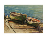Boats on the Black Sea, 1970s Giclee Print by Svetlana Ryazanova