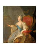 Catherine the Great, 1763 Giclee Print by Fedor Stepanovich Rokotov