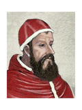 Clement VII (1478 1534), Born Giulio Di Giuliano De Medici. Cardinal from 1513 to 1523 and Pope… Giclee Print