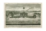 Temple in Honour of the Peace of Aix La Chapelle 1749 Giclee Print