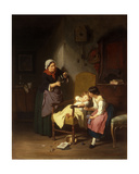 The Little Patient, 1865 Giclee Print by Hanno Rhomberg