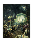 The Outdoor Opera Giclee Print by Carl Wuttke
