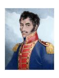 Bolivar, Simon (1793- 1830). Military and Venezuelan Statesman Giclee Print