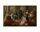 Afternoon Tea, 1778 Giclee Print by Jan-anton Garemyn