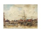 Dutch Bridge Giclee Print by Emily Murray Paterson