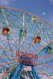 Deno's Wonder Wheel Amusement Park at Coney Island in Brooklyn Photographic Print