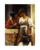 The Proposal, 1888 Giclee Print by Eugen Von Blaas