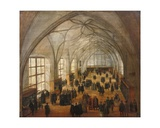 The Vladislav Hall at the Castle in Prague Giclee Print by Hendrik The Younger Steenwyck