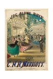 Jog Along Boys Giclee Print by Alfred Concanen