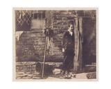 Walter Chamberlain Hiding Behind Bredicot Pump, Mid-1850s Giclee Print by Benjamin Brecknell Turner